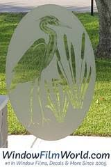 <b>Static</b> Cling <b>Etched Glass</b> Decals - <b>Frosted Glass</b> Stickers