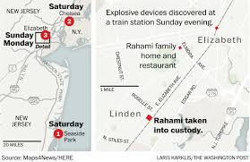here s how the new york and new jersey bombings unfolded the ×