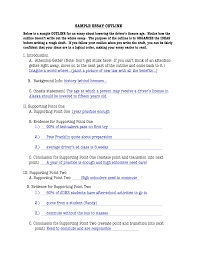example essay outline read more examples of outlining an essay