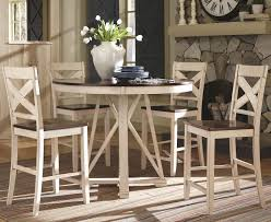 tall dining chairs counter: tall dining table furniture round glass dining table with square in counter height round table and