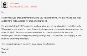 how to get noticed by established guys when you have a new website nate 1st comment
