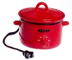 Image result for mini red crock pot