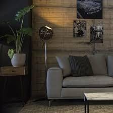 <b>Retro floor lamp</b> black adjustable - Strike   Lampandlight