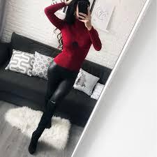 Thick Turtleneck Warm <b>Womens Sweaters 2018</b> Winter Autumn ...