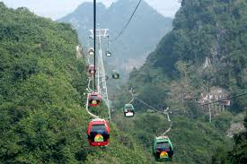 Cable Car to Perfume Pagoda