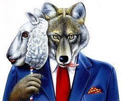 Resultado de imagem para lobo em pele de cordeiro