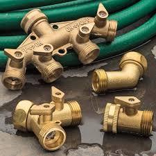 Solid <b>Brass</b> Multi-Hose <b>Splitter</b> - Garrett Wade