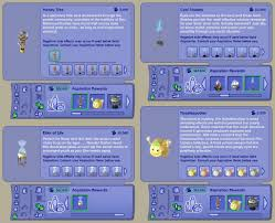 mod the sims aspiration reward recolours all are found in rewards > aspiration rewards for the number of aspiration points required and an explanation of the items see the pics below