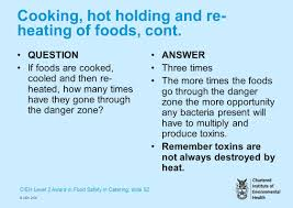 cieh level award in food safety in catering slide copy cieh cieh level 2 award in food safety in catering slide 52 copy cieh 2006