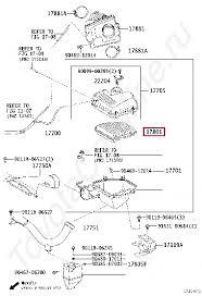 <b>Оригинальный воздушный фильтр</b> Camry v40