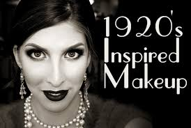 wearable 1920s inspired makeup tutorial pigments palettes makeup beauty and style