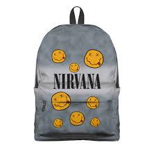 Рюкзак 3D <b>Nirvana</b> #2795629 – рюкзаки с принтами в Москве от ...