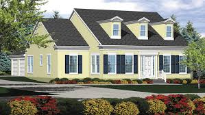 Cape Cod Home Plans   Cape Cod Style Home Designs from HomePlans com Bedroom Cape Cod Home Plan HOMEPW