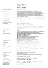 images about resume on pinterest   sample resume    administration cv template    administrative cvs  administrator job description  office  clerical