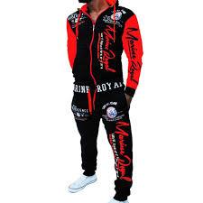 <b>ZOGAA</b> 2019 <b>Brand Mens</b> Sweat Suits <b>Men</b> Sportswear 2 Piece ...
