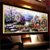 Wholesale <b>Garden Landscape</b> Paintings for Resale - Group Buy ...