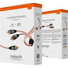 <b>Кабель сабвуферный Inakustik</b> Star Audio Cable, Y-Sub, RCA ...