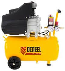 <b>Компрессор масляный Denzel</b> PC 1/24-205, 24 л, 1.5 кВт — купить ...