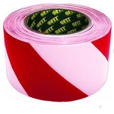 <b>Лента сигнальная</b> Fit, цвет: красно-белый, <b>50 мм</b> х 100 м ...