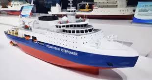 China Reveals Details of <b>Newly Designed</b> Heavy Icebreaker