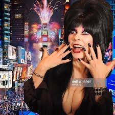 Happy New Year! I hope in 2019, Elvira busts out....uh.. I meant with ...