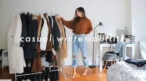CASUAL <b>WINTER OUTFITS</b> ❄️| <b>winter fashion</b> lookbook - YouTube
