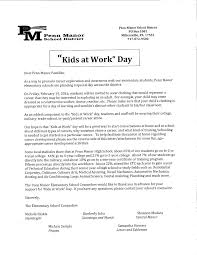 tomorrow is kids at work day ann letort elementary school