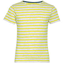 <b>Футболка MILES KIDS</b> серый с желтым, размер 12Y оптом под ...
