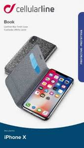 <b>Чехол</b>-<b>книжка Cellularline Apple iPhone</b> X Black - цена на Чехол ...