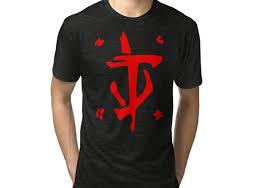 <b>Mark</b> of the <b>Doom</b> Slayer - Red Tri-blend <b>T</b>-<b>Shirt</b> | Products | <b>T shirt</b> ...