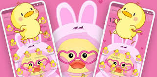 Cute <b>Little Yellow Duck</b> Theme – Apper på Google Play