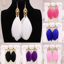Hook <b>Bohemian</b> Feather <b>Fashion</b> Earrings for sale | eBay