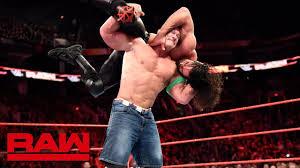 John Cena vs. Seth Rollins - Seven-Man Gauntlet Match Part 2: Raw ...