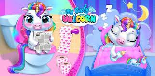 <b>My Baby</b> Unicorn - Virtual Pony Pet Care & Dress Up - Apps on ...