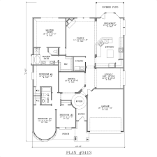 One Story Bedroom House Plans House Plans and Home Design    One Story Bedroom House Plans House Plans and Home Design for House Plans With Bedrooms