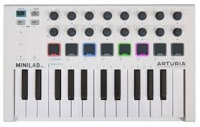 <b>MIDI</b>-<b>клавиатура Arturia MiniLab MkII</b> — купить по выгодной цене ...