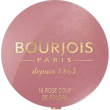 <b>BOURJOIS</b>, Little Round Pot <b>Blusher</b> 16 <b>Rose Coup</b> De Foudre ...