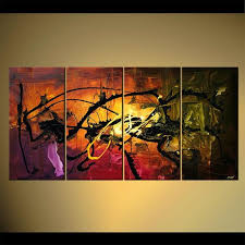 abstract art paintings osnat home decor