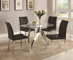 black brown dining table