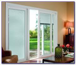 patio doors with blinds between the glass: sliding glass doors with built in blinds
