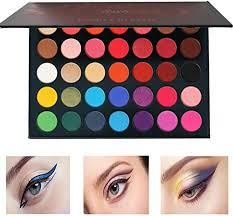 <b>Beauty Glazed</b> Pressed Powder <b>35 Colors</b> Eyeshadow Palette ...