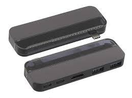 <b>Хаб USB Baseus Transparent</b> Series Type C to 2xType C 2xUSB 3 ...
