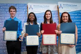 art essay contest award ceremony atlantic institute support us
