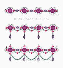 free-pattern-<b>beaded</b>-<b>necklace</b>-tutorial-2 (647x700, 236Kb ...