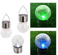 Wholesale Crackle Glass <b>Solar Lights</b> for Resale - Group Buy ...