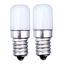 MZMing [2 Pack] <b>E14</b> LED Bulb 2W Fridge Bulb Equivalent to 20W ...