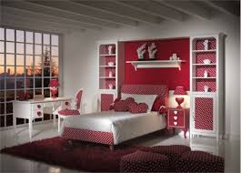 beautiful bedroom ideas for teenage girls with red colors theme and furniture cabinet decoration bedroom bedroom beautiful furniture cute