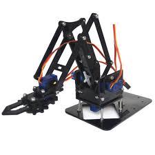 DIY <b>Robot Arm</b> Kit Educational <b>Robotic Claw</b> Set   Gearbest