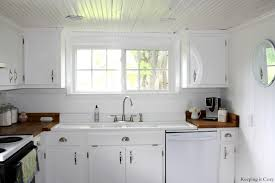 Small White Worms In Kitchen Remodelaholic Country Kitchen With Diy Reclaimed Wood Countertop