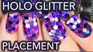 Large <b>holo glitter</b> placement / SOCCER <b>NAILS</b>?? - YouTube